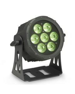 Cameo FLAT PRO 7 XS Kompakter, flacher 7 x 8 Watt Quad-LED PAR-Scheinwerfer