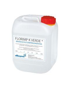 Florimp K Verde 120 l Tonne Flammschutzmittel für Kunstblumen, Deko-Grünpflanzen
