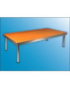 RAPID  2 m x 1 m Tischlerplatte, braun lasiert