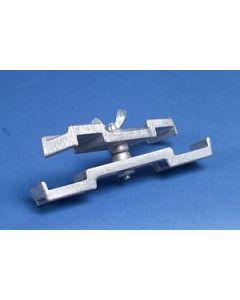 Verbindungsklammer 2-fach für Steckfüße 60/60 mm