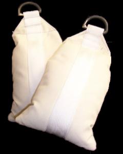 Sandsack, Gewicht ~3,0-4,0kg, befüllt und vernäht, schwer entflammbar, Farbe: Natur