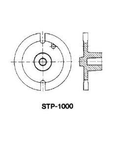 Stativplatte mit 20mm Durchgangsbohrung