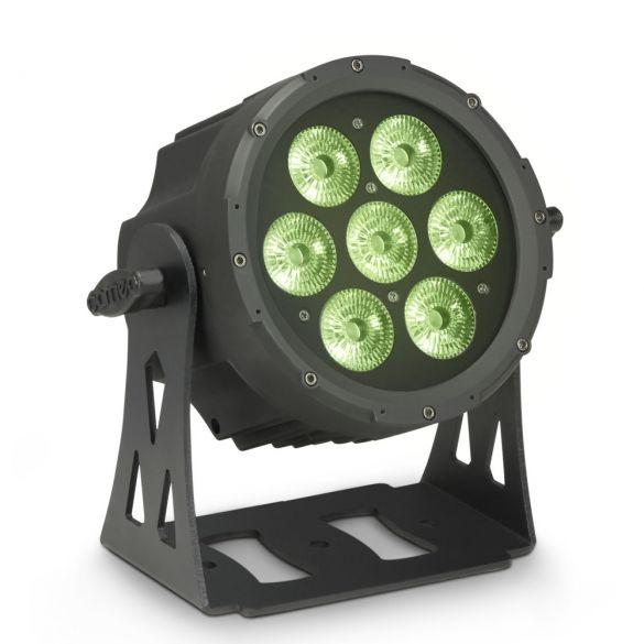 Kompakter, flacher 7 x 8 Watt Quad-LED PAR-Scheinwerfer