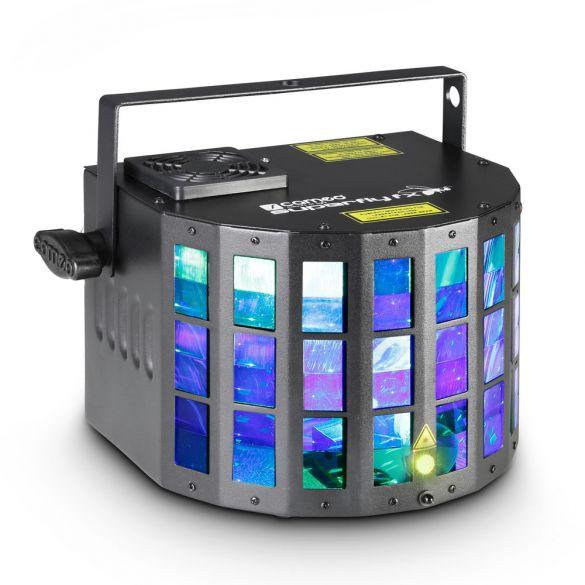 2-in-1 LED Derby Effekt mit Grating Laser