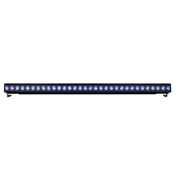 ColorSource Linear 4 Deep Blue, XLR, silbergrau