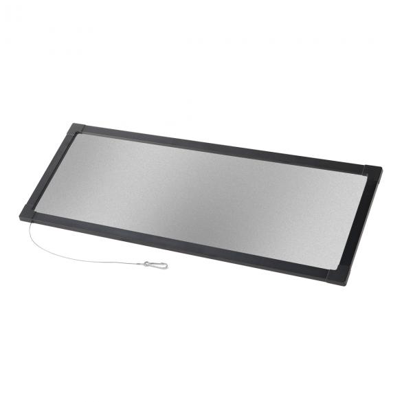 Filterrahmen 63°x 10°/eliptisch horizontal,  P-10