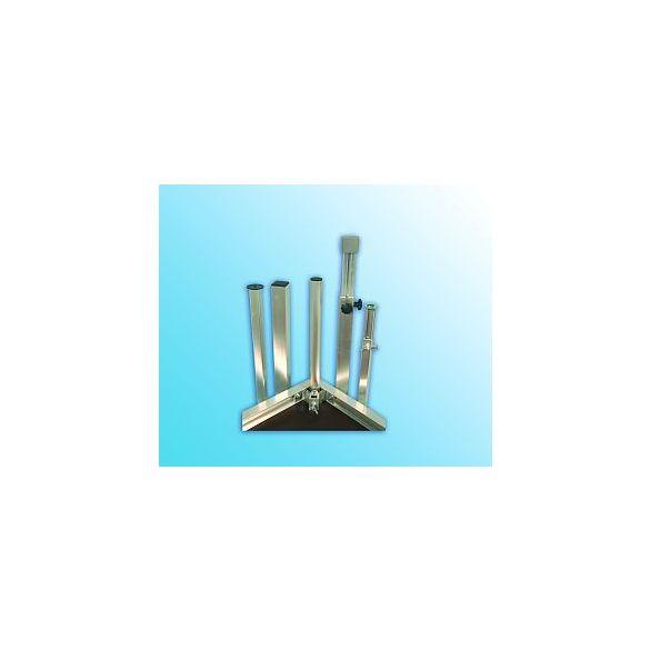 Alu-Steckfüße 60/60 mm / 4 mm Bauhöhe 160 cm