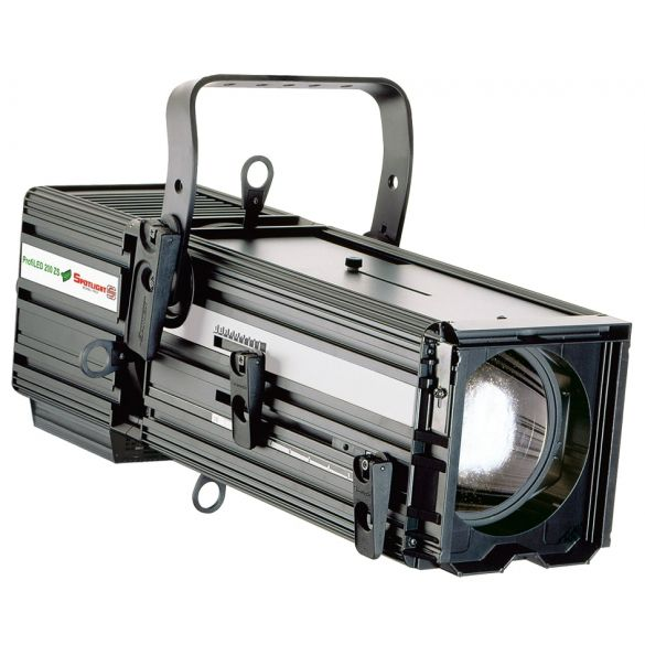 ProfileLED luminaire 200W 11°-23° Warm White c/w DMX DMX control