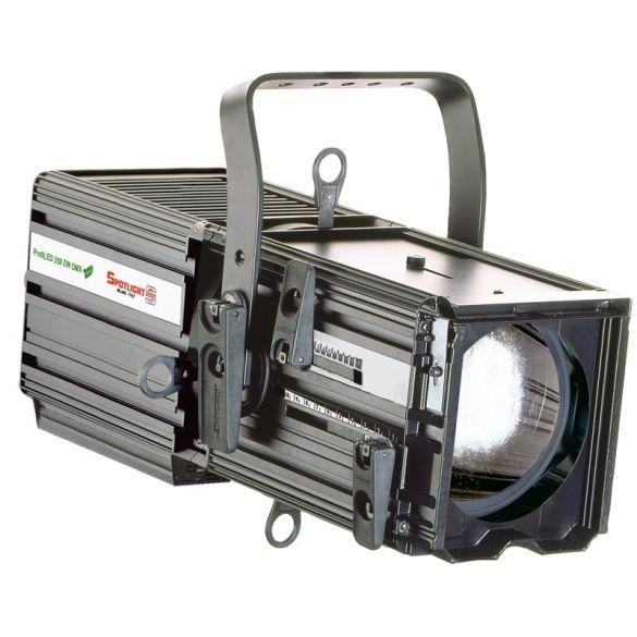 ProfileLED luminaire 250W 24°-44° Warm White c/w DMX control